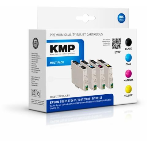 KMP Kompatible Druckerpatronen, ersetzten Epson
