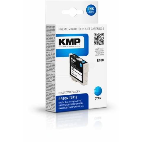 KMP Tintenpatrone, ersetzt C13T07124011 für