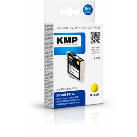 KMP Tintenpatrone, ersetzt C13T07144011 für