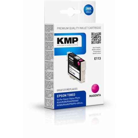 KMP Druckpatrone ersetzt Epson T0803 mit 7, 4 ml