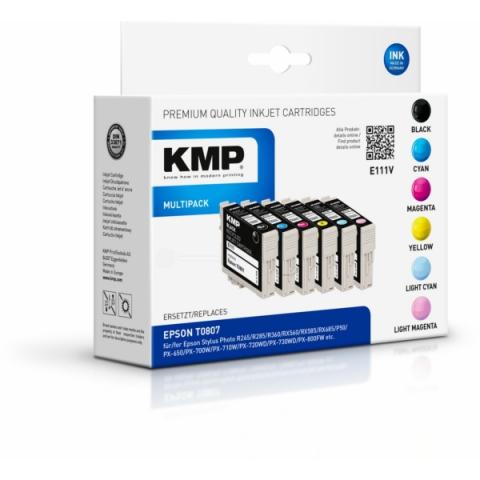 KMP Multipack Tintenpatronen ersetzt Epson