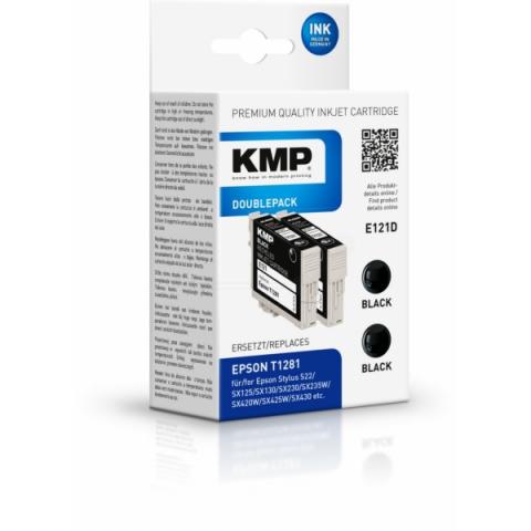 KMP Druckerpatronen Doppelpack ersetzt 2 x T1281