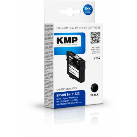 KMP Druckerpatrone, recycelt, E154 schwarz