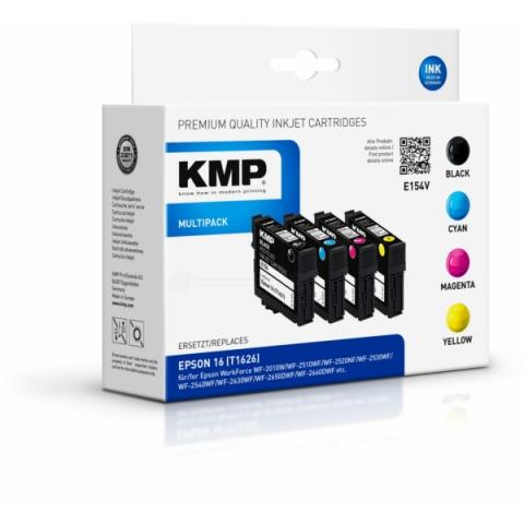 KMP Druckerpatrone, recycelt, E154V MULTIPACK