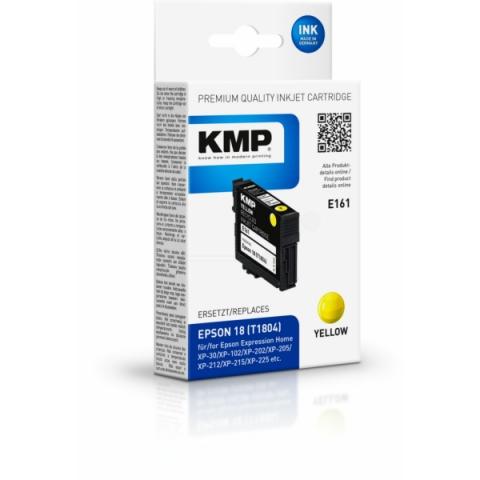 KMP Druckerpatrone, recycelt, E161 gelb ersetzt