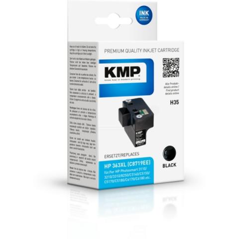 KMP Druckerpatrone für HP Photosmart 3100 , 3110