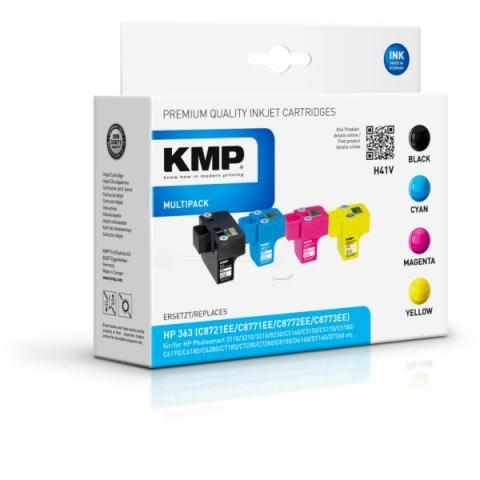 KMP Druckerpatrone im Multipack für HP