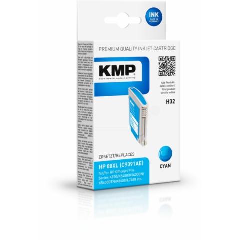 KMP Druckerpatrone ersetzt HP88XL , C9391AE als