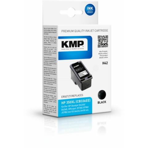 KMP Druckerpatrone, recycelt ersetzt HP 350 ,