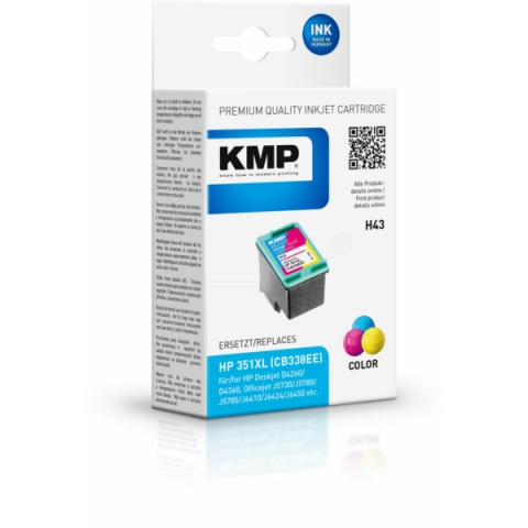 KMP Druckerpatrone für Officejet J 5780 , J6410