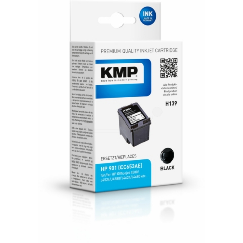 KMP Druckerpatrone, recycelt, ersetzt HP 901