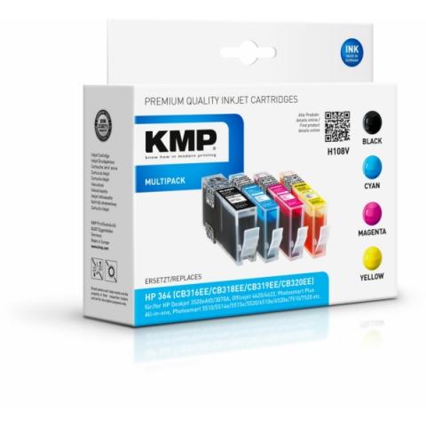KMP Druckerpatrone im Multipack, ersetzt HP
