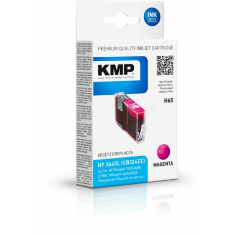 KMP Tintenpatrone ersetzt HP 364 XL CN324EE