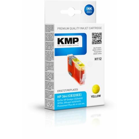 KMP Druckerpatrone ersetzt HP 364 (CB320EE) für