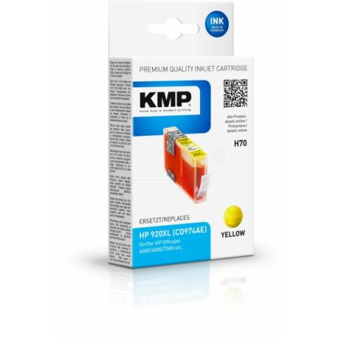 KMP Tintenpatrone für HP ersetzt HP 920 XL ,