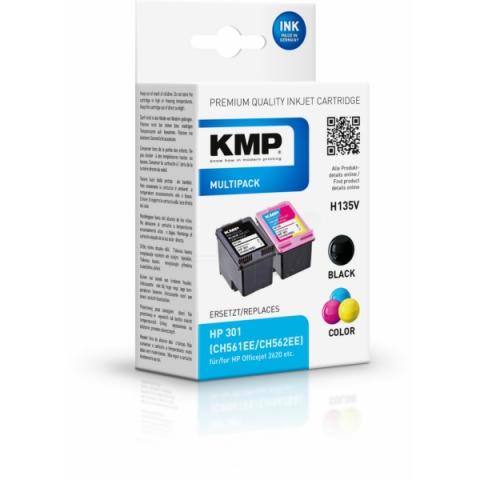 KMP Druckerpatronen, recycelt im MULTIPACK