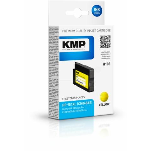 KMP Druckerpatrone ersetzt HP CN048AE für HP
