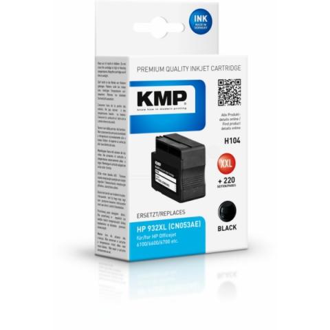 KMP Druckerpatrone ersetzt HP CN053AE für HP
