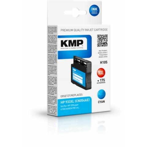 KMP Druckerpatrone ersetzt HP CN054AE für HP
