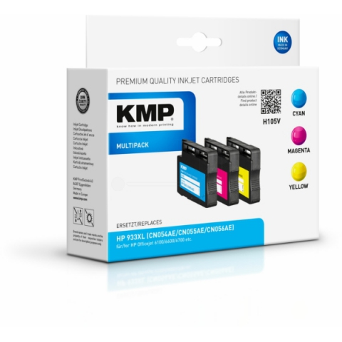 KMP Druckerpatronen im Multipack, ersetzt CN054