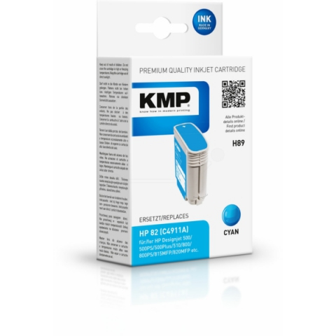 KMP Druckerpatrone, recycelt, ersetzt HP 82 ,