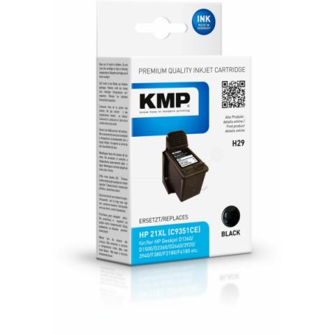 KMP Refilled Druckerpatrone für HP Deskjet D1300