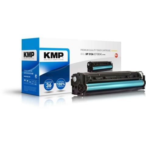 KMP Toner, rebuild, ersetzt HP 312A (CF382A)