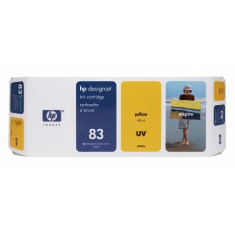 HP C4943A HP 83 , UV-beständige HP Tintenpatrone