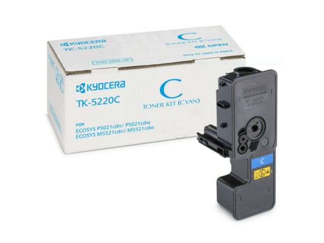 TK-5220C Toner Kyocera für Ecosys M 5521/CDW/CDN/P5021/P5025 mit einer Seitenleistung von ca.