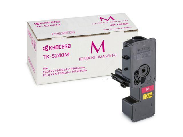 TK-5240M Toner Kyocera für Ecosys M5526/P5026 CDW/CDN mit einer Seitenleistung von ca. 3.000