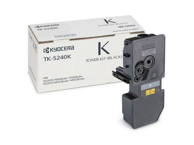 TK-5240K Toner Kyocera für Ecosys M5526/P5026 CDW/CDN mit einer Seitenleistung von ca. 4.000
