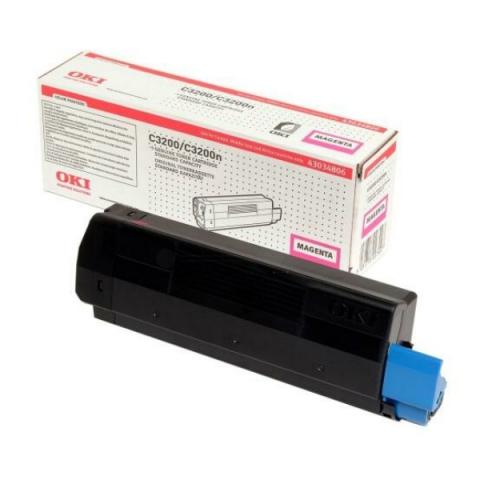 OKI 43034806 Toner passend für C 3200 , C 3200 N