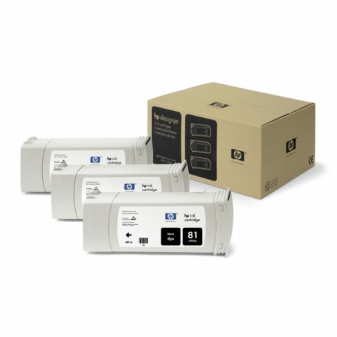 HP C5066A Tintenpatrone 3 x 680 ml HP , NO 81