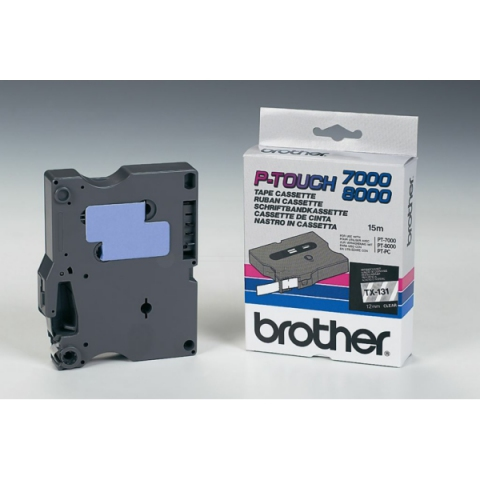 Brother TX131 BROTHER P-TOUCH 12mm