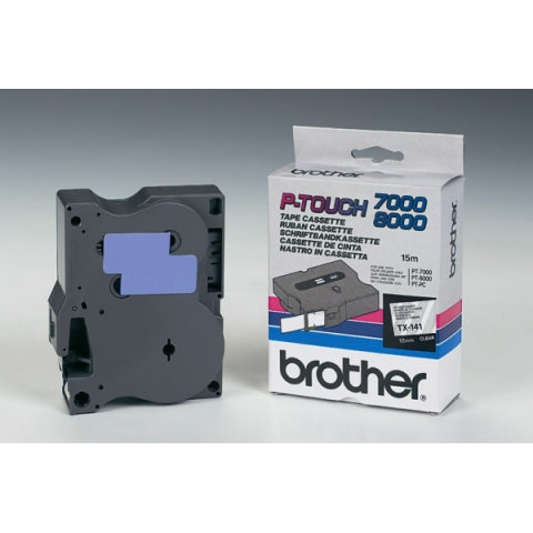 Brother TX141 BROTHER P-TOUCH 18mm