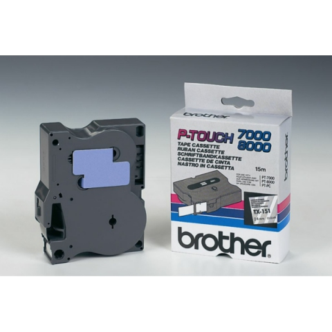 Brother TX151 BROTHER P-TOUCH 24mm