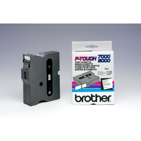 Brother TX251 BROTHER P-TOUCH 24mm