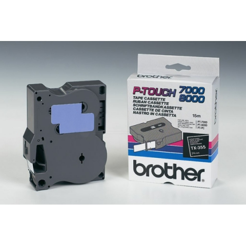 Brother TX355 BROTHER P-TOUCH 24mm