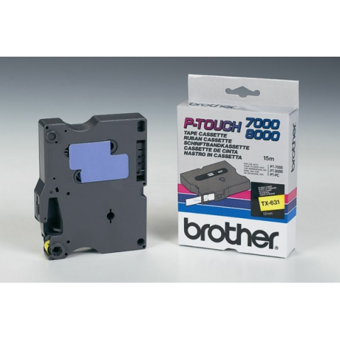 Brother TX631 BROTHER P-TOUCH 12mm
