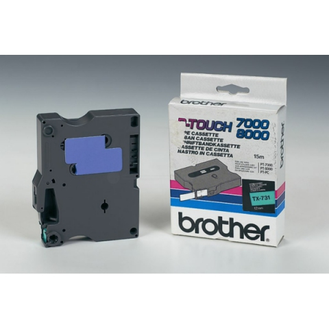 Brother TX731 BROTHER P-TOUCH 12mm