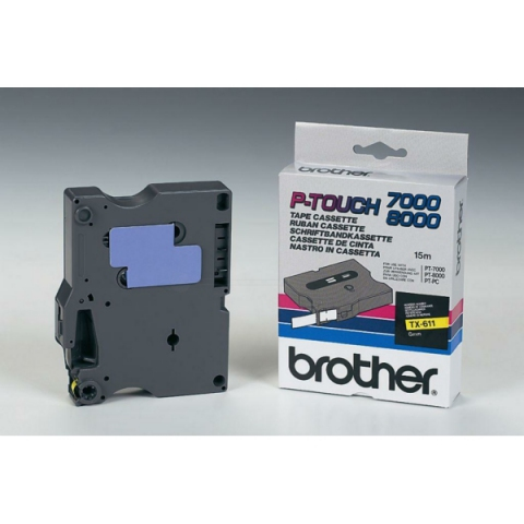 Brother TX611 BROTHER P-TOUCH 6mm