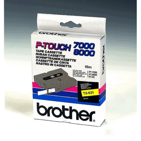 Brother TX621 BROTHER P-TOUCH 9mm