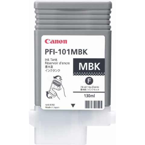 Canon PFI101MBK Tintenpatrone, 130 ml, passend