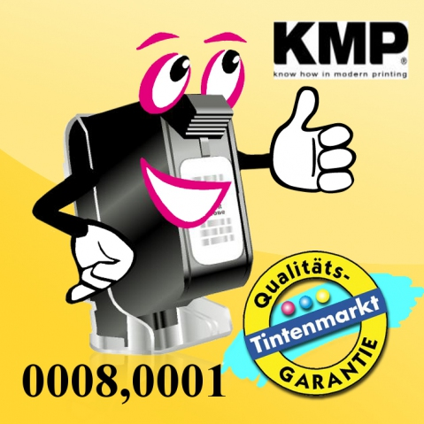 KMP - Toner Kartusche mit 2 x 180g, black
