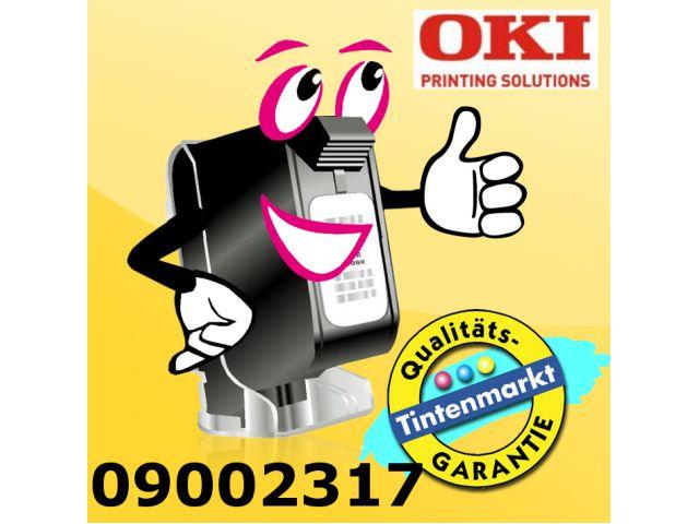 Original OKI Nylonband für ca. 3 Mio Zeichen, schwarz, Art.Nr. 09002317