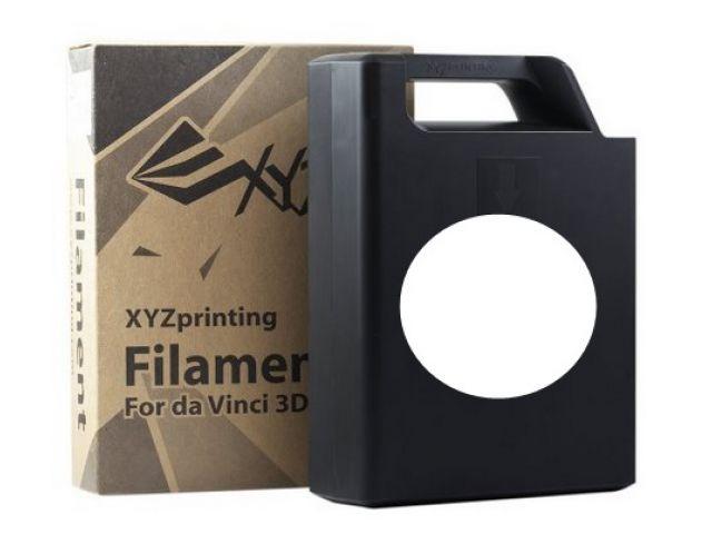 ABS Plastic Filament (schneewei�) Cartridge / Kassette mit 600 Gramm Inhalt f�r DA VINCI 1.0 3D