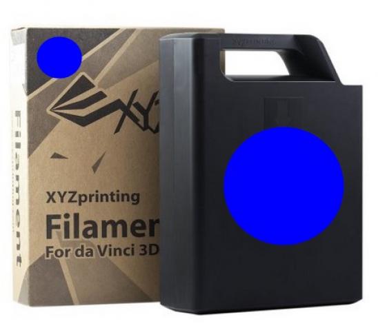 XYZprinting ABS Plastic Filament (blau)