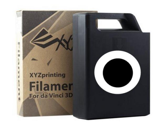 ABS Plastic Filament (schwarz) Cartridge / Kassette mit 600 Gramm Inhalt f�r DA VINCI 1.0 3D