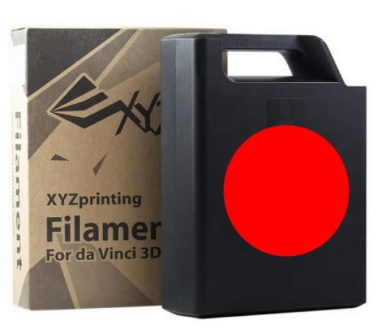 XYZprinting ABS Plastic Filament (red) Cartridge