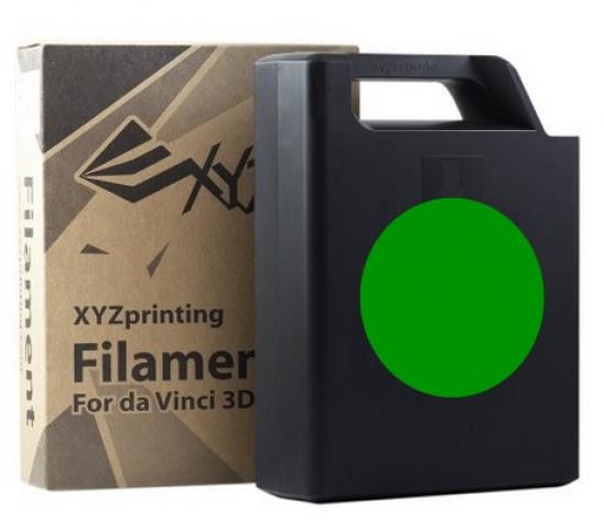 XYZprinting ABS Plastic Filament (green)